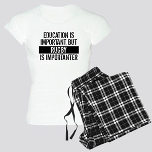 Rugby Is Importanter Pajamas