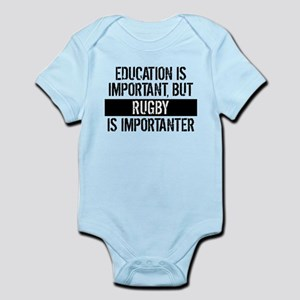 Rugby Is Importanter Body Suit