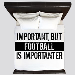 Football Is Importanter King Duvet