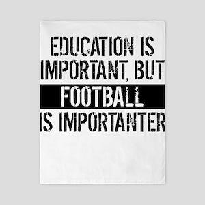 Football Is Importanter Twin Duvet