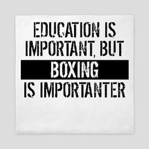 Boxing Is Importanter Queen Duvet