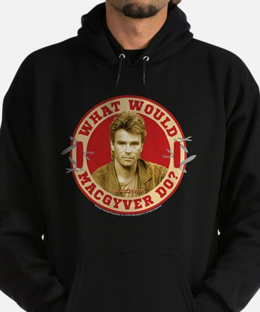 What Would MacGyver Do? Hoodie (dark)