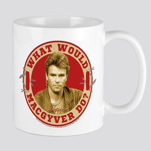 What Would MacGyver Do? Mug