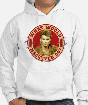 What Would MacGyver Do? Hoodie