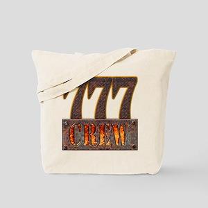 777 Crew Metal Tote Bag