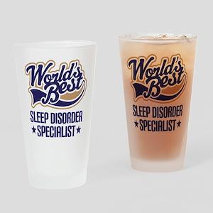 Sleep Disorder Specialist Drinking Glass