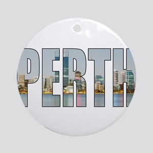 Perth Round Ornament