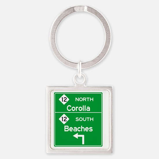 Cute Obx Square Keychain