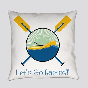 Go Rafting Everyday Pillow