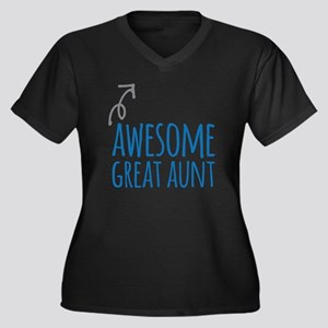 Awesome Great Aunt Plus Size T-Shirt