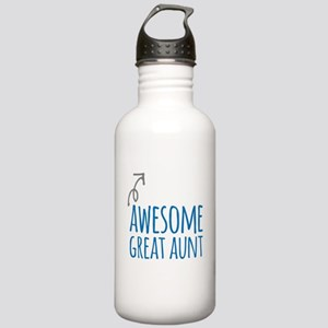 Awesome Great Aunt Stainless Water Bottle 1.0L