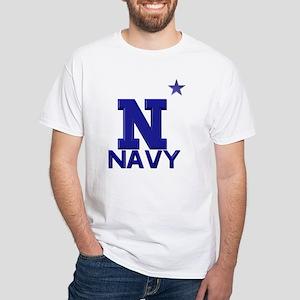 US Naval Academy White T-Shirt