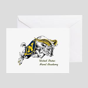USNA Logo Greeting Cards (Pk of 10)