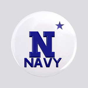 "US Naval Academy 3.5"" Button"