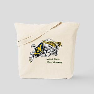 USNA Rampaging Goat Tote Bag