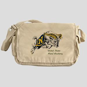 USNA Rampaging Goat Messenger Bag