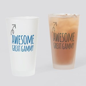 Awesome Great Gammy Drinking Glass