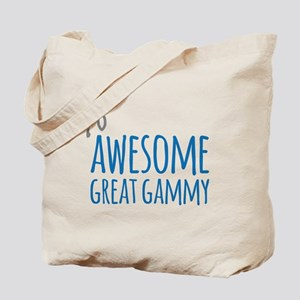 Awesome Great Gammy Tote Bag