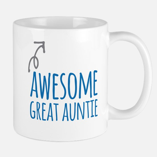 Awesome Great Auntie Mugs