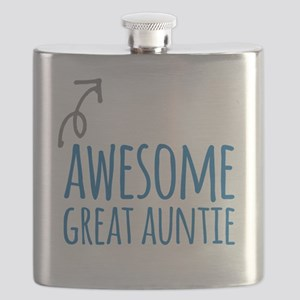 Awesome Great Auntie Flask