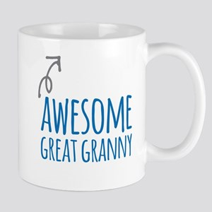 Awesome Great Granny Mugs