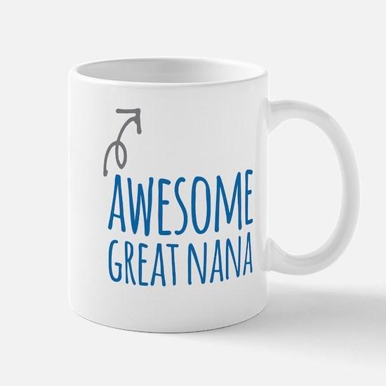 Awesome Great Nana Mugs