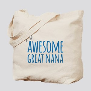 Awesome Great Nana Tote Bag