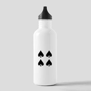 Poker Stainless Water Bottle 1.0L