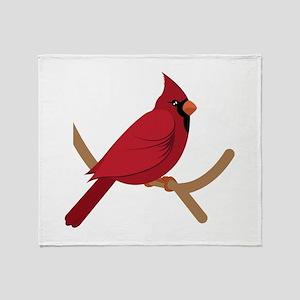 Cardinal Throw Blanket