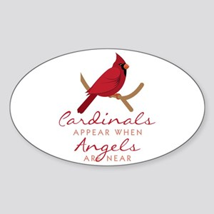 Cardinals Appear Sticker