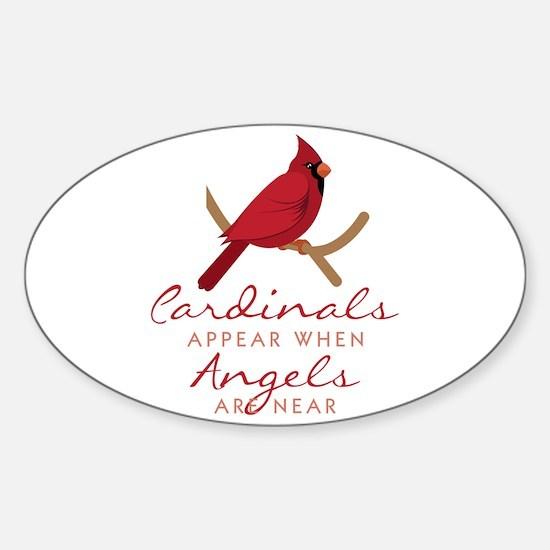 Cardinals Appear Bumper Stickers
