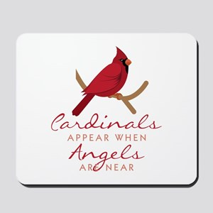 Cardinals Appear Mousepad