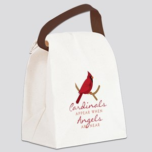 Cardinals Appear Canvas Lunch Bag