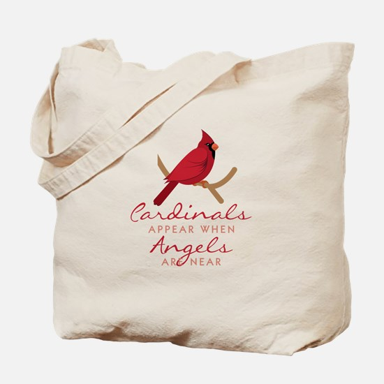 Cardinals Appear Tote Bag