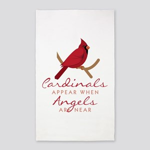 Cardinals Appear Area Rug