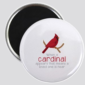 When Cardinal Appears Magnets