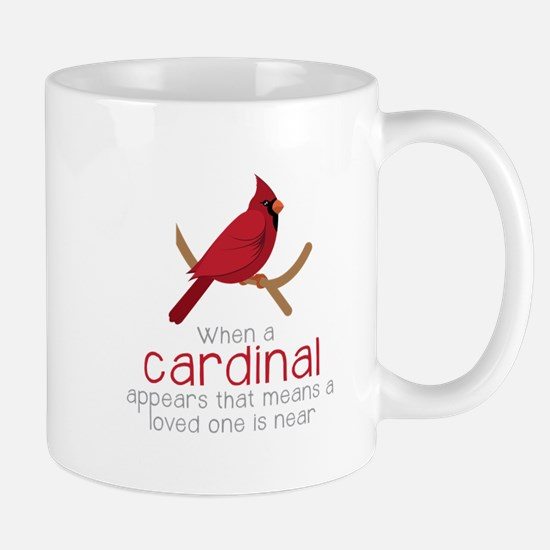 When Cardinal Appears Mugs
