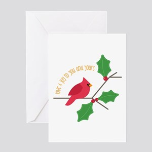 Love & Joy Greeting Cards