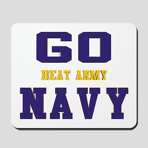 Go Navy, Beat Army! Mousepad