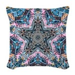 Star City Woven Throw Pillow