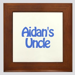 Aidan's Uncle Framed Tile