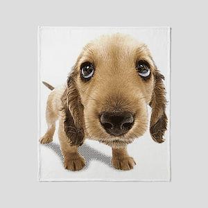 Puppy Dog Throw Blanket