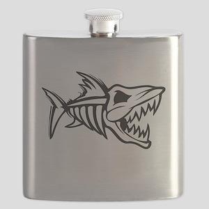 Bone Fish Flask
