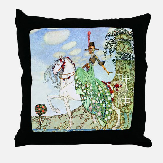 Kay Nielsen - Princess Minon Minette Throw Pillow