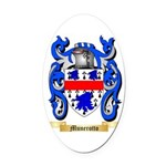 Munerotto Oval Car Magnet