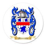 Munerotto Round Car Magnet