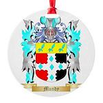 Mundy Round Ornament