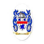 Munaretto Oval Car Magnet