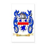 Munaretto Rectangle Car Magnet