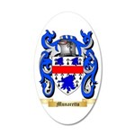 Munaretto 35x21 Oval Wall Decal